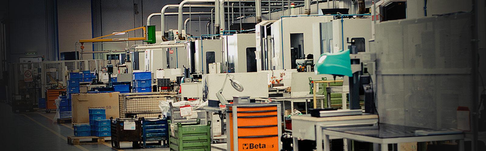 Sala lavorazione metalli